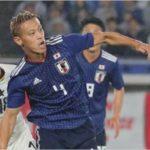 日本代表とガーナ代表の試合